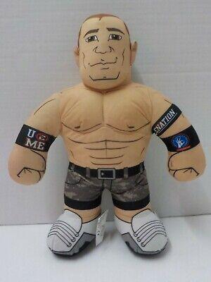 """D 2012 WWE John Cena Brawlin Buddies Wrestler Plush Doll 16"""""""