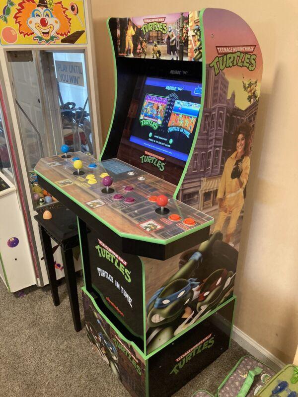 Arcade1Up Teenage Mutant Ninja Turtles At-Home Arcade TMNT Riser - Barely Used