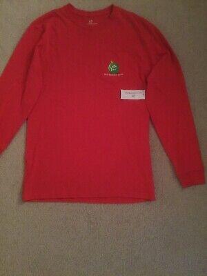 NWT Southern Christmas Theme Long Sleeve Small Shirt Red ()