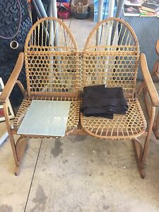 Snow shoe style chair set