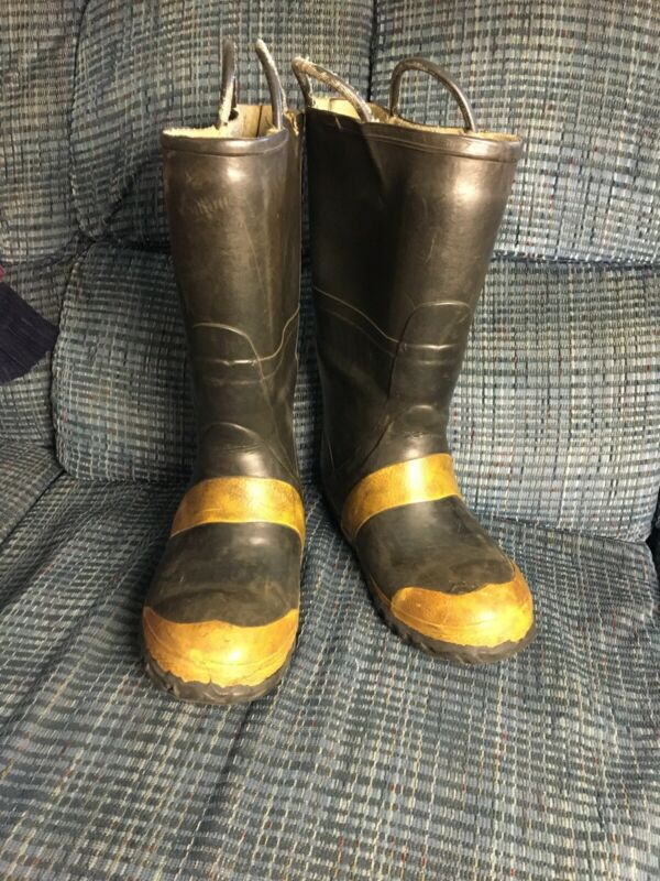 Vintage Servus Firefighter Firebreaker Boots Size 8 Men's 9women  Steel Toe