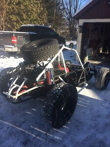 Pair of Vw powered dune buggy's