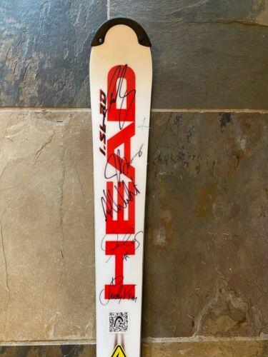 Olympic Autographed Head Ski