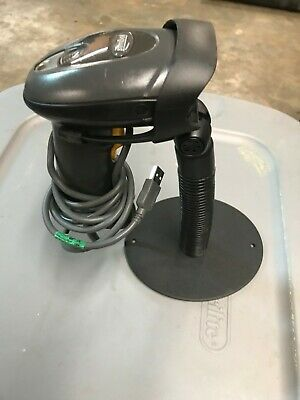 Symbol Handheld Barcode Scanner Ls4208 With Stand