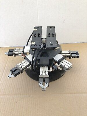 Robot Arm Pneumatic Air Grippers As Used By Smc Mhz2-16d Stock 3