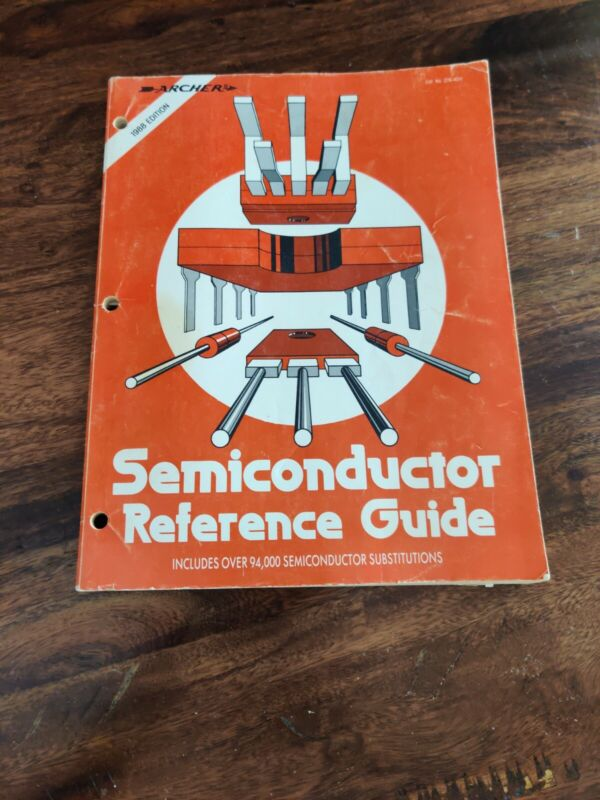 1988 Archer Semiconductor Reference Guide Free Shipping