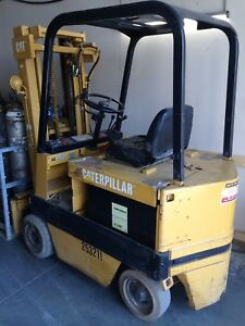 Cat M40B Electric Forklift