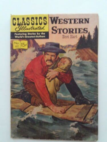 Classics Illustrated #62 - WESTERN STORIES - HRN 152 VG