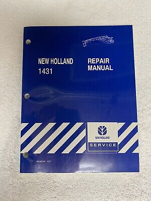 New Holland 1431 Disc Mower-conditioner Service Repair Manual 40143110