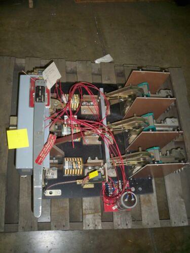 Boltswitch 0-1158/5000688 3000a 3p 600v Dc W/ Shunt Trip Switch Used E-ok