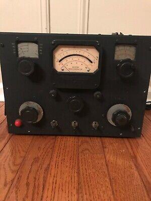 Vintage Boonton Radio Q Meter Type 190-a Serial Number 1175
