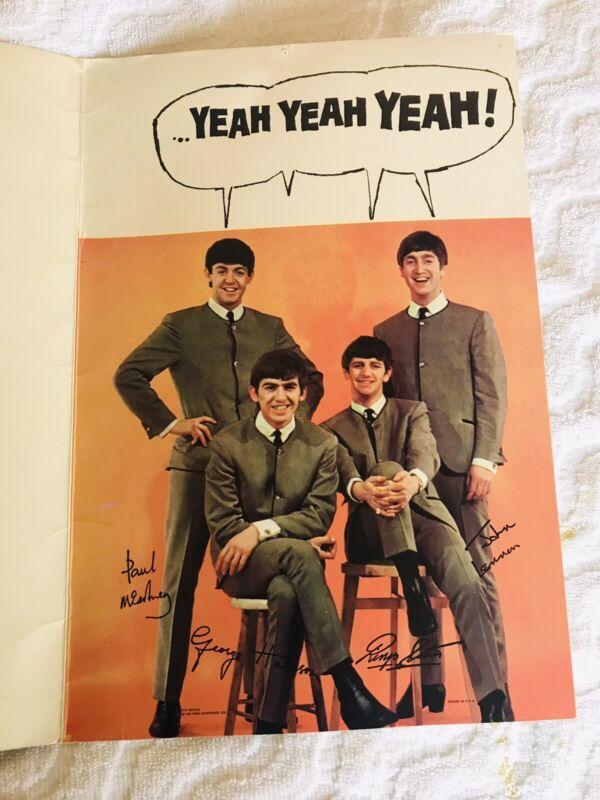 Beatles Greeting Card NEMS Enterprises 1964