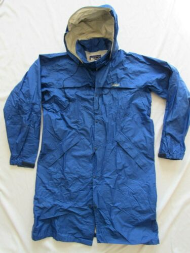 Vtg 80s 90s Patagonia Made in Japan Hooded Zip Snap T Front Rain Jacket Parka