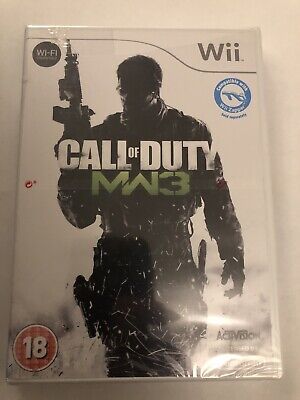 Nintendo Wii CALL OF DUTY MODERN WARFARE 3 MW3 New And Sealed....