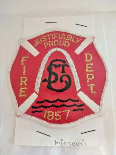 St. Louis Missouri Fire Department Patch MO Fire Dept.