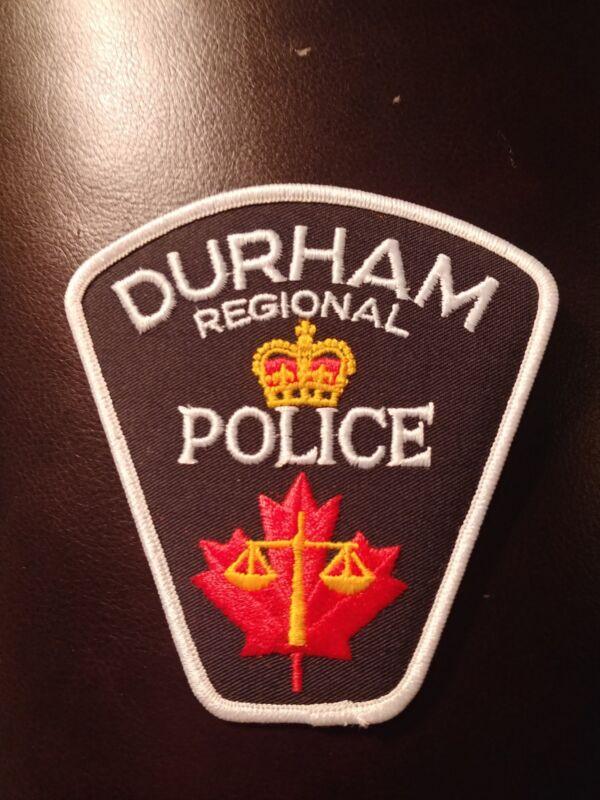 obsolete Police Patch  -  Durham Regional   , Ontario - Canada