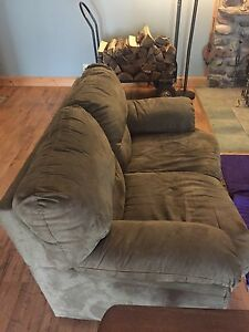 Couch and love seat for sale