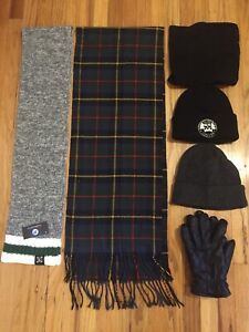 Hats, Gloves, Scarves (Some Items BRAND NEW!)