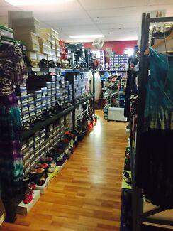 SHOE SHOP STOCK AND FITTINGS - chinchilla Chinchilla Dalby Area Preview