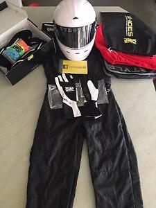 [NEW] GO KART GEAR SET: Suit, Helmet, Gloves, Shoes. Banksia Grove Wanneroo Area Preview
