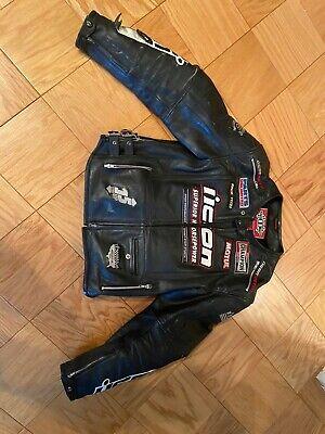 ICON Motorcycle Leather Jacket Men's Size Medium