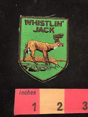 Vtg WHISTLIN' JACK Lodge Washington Patch 88XD