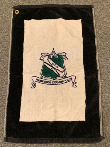 Ridgewood Country Club Golf Towel Course Club Bag NJ New Jersey