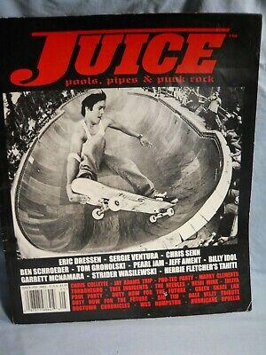 Juice Skateboard Magazine Pools, Pipes & Punk Rock Issue #59 2005 Eric Dressen