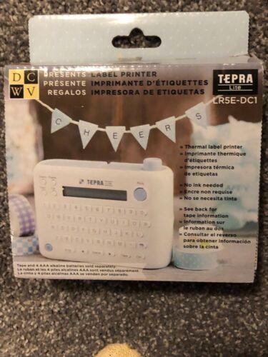 DCWV TEPRA Lite Label Printer English Edition LR5E-DC1