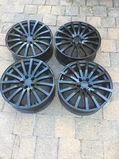 19 inch black mag wheels to fit holden (cruze,astra,barina...)