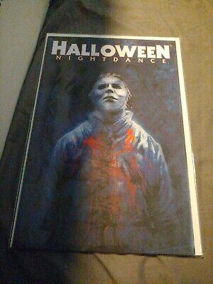 Halloween Nightdance Comic Book (Halloween nightdance comic 4C unread condition Michael)