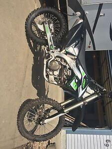 2008 kx450f dirt bike