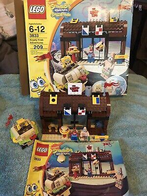 Lego Spongebob 3833 Krusty Krab Adventures