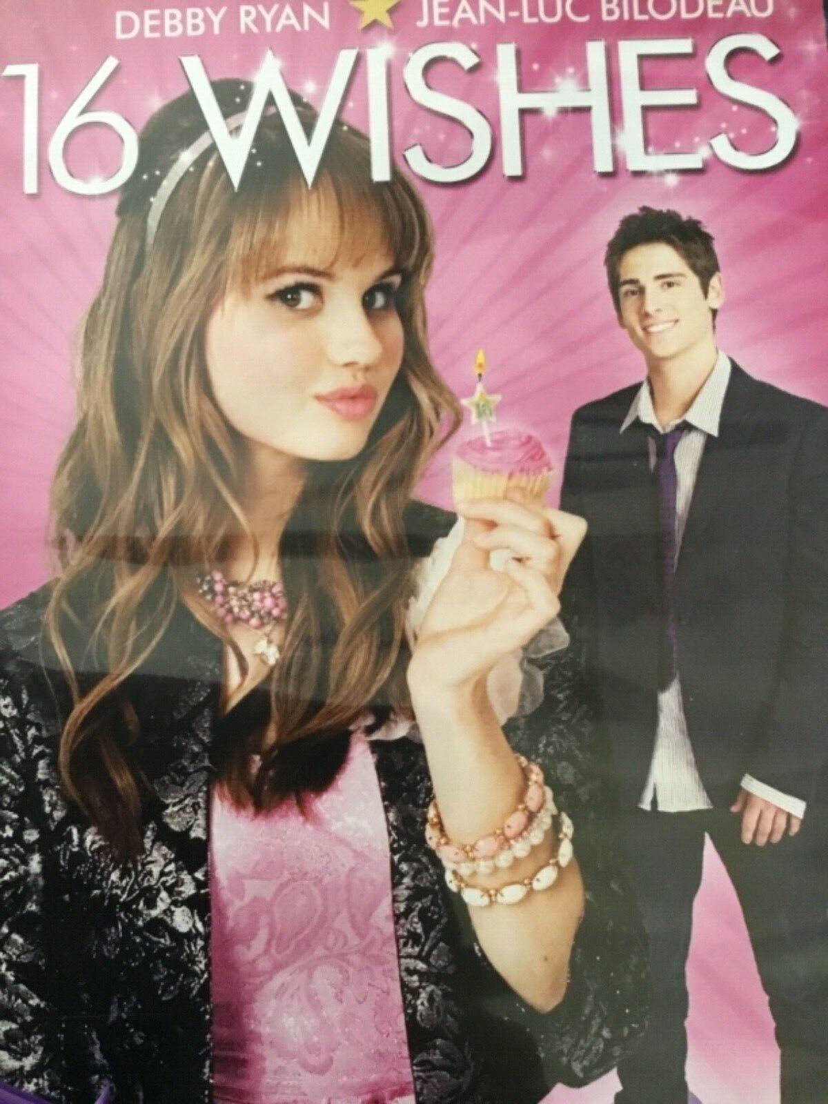 16 Wishes DVD Movie Starring Debby Ryan, Jean-Luc Bilodeau