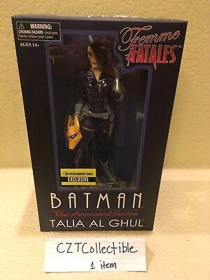 Batman  The Animated Series Talia Al Ghul Femme Fatales Statue   Entertainment