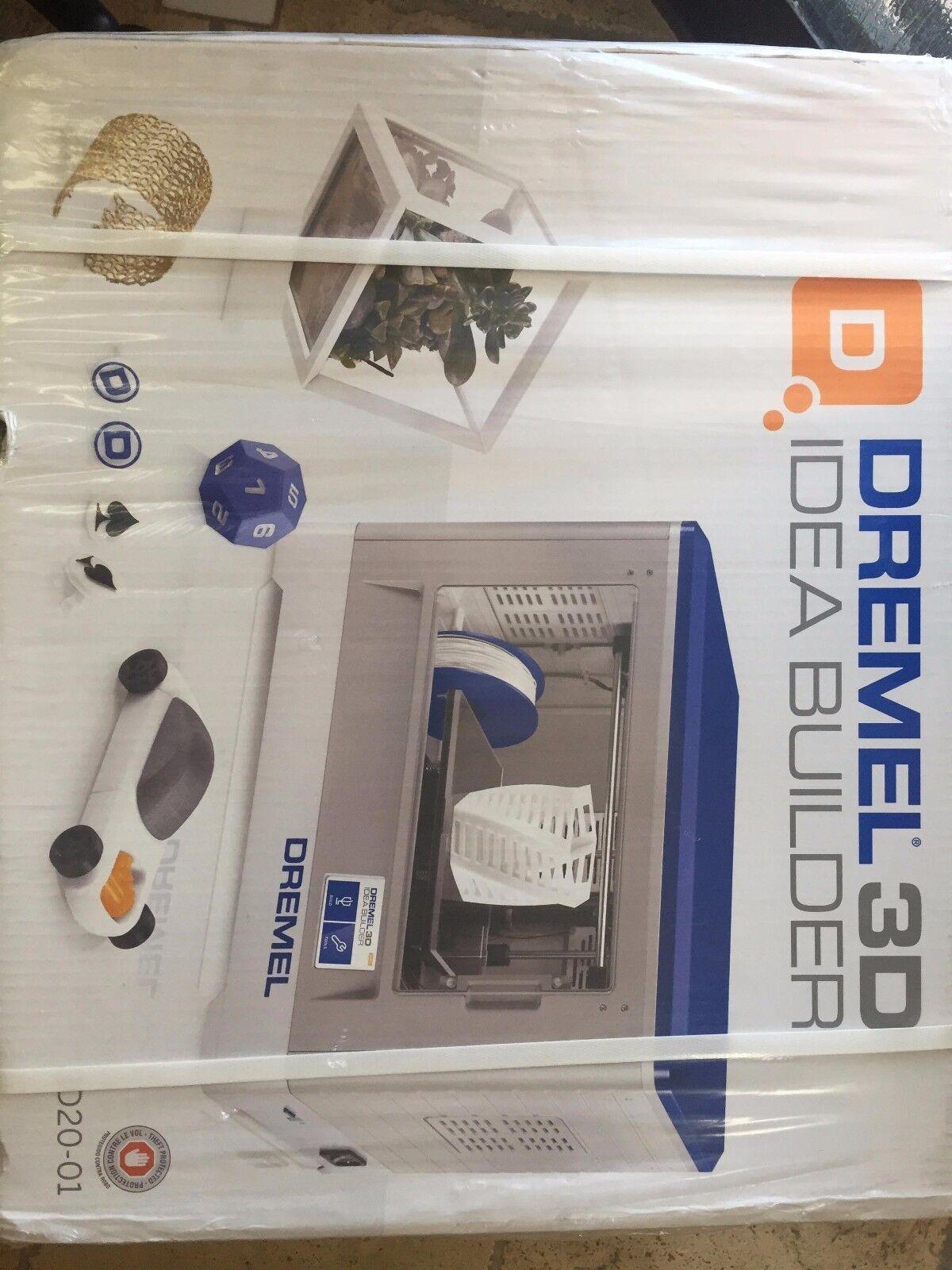 NEW Dremel DigiLab 3D20 3D Printer, Idea Builder for Tinkere