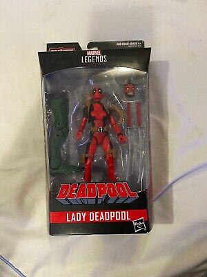 "Hasbro Marvel Legends Wanda Wilson DEADPOOL Lady-D 6"" Figure Sauron BAF"