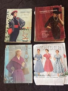 Antique vintage catalogues