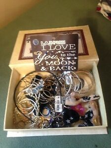 Box of MISC jewelry