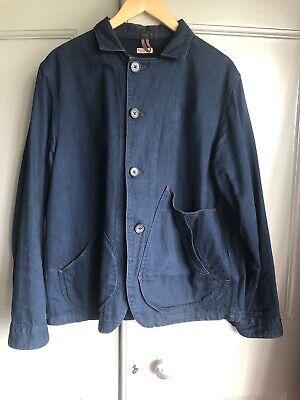 KAPITAL Ringoman Indigo Denim Men's Jean Jacket Coat Japan Size Medium VGC