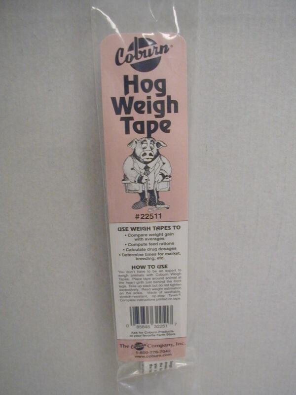Hog Weigh Tape
