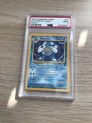 PSA 9 2000 Pokemon Game Poliwrath - Holo - Base Set 2 Base II MINT WOTC 15/130