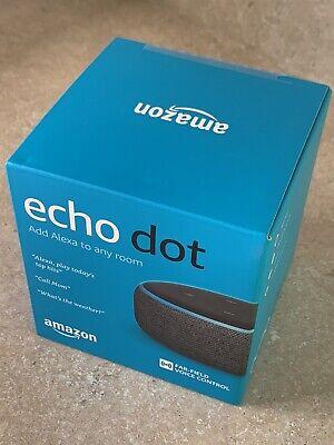 Amazon Echo Dot (3rd Gen) Smart Speaker with Alexa - Gray