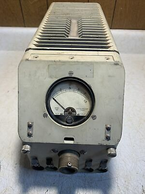 Bird Rf Wattmeter Ts-118aap 20-1400mhz With 500w Dummy Load 276022