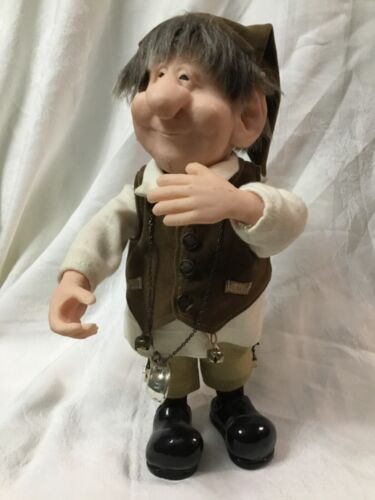 """2001 ZIM'S Wine Cellar Elf Heirloom Collection THE ELVES THEMSELVES 10"""" Tall"""