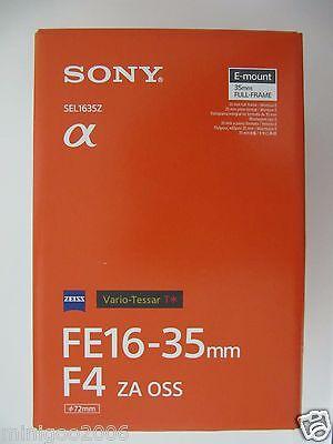 NEW SONY Vario-Tessar T* FE 16-35mm F4 ZA OSS SEL1635Z (16-35 mm F/4) Lens*Offer