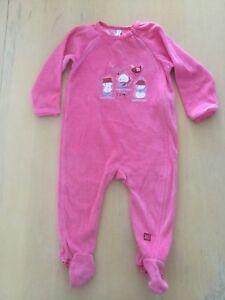 Pyjama de Noël Souris Mini pour fille 18 mois.