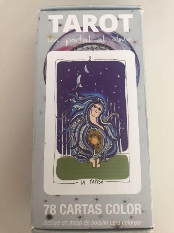 RARE PORTAL AL ALMA DOOR TO SOUL TAROT 78 CARDS  DECK MADE IN ARGENTINA + More
