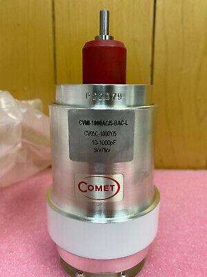 Comet Cvmi-1000ac5-bac-l 10-1000pf 5kv 304212 Variable Vacuum Capacitor