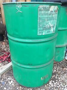 55 gallon steel oil drum
